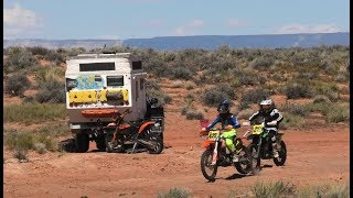 EP:07 - Running a RACE CHECKPOINT in my 4x4 TRUCK CAMPER - FULL TIME on the ROAD