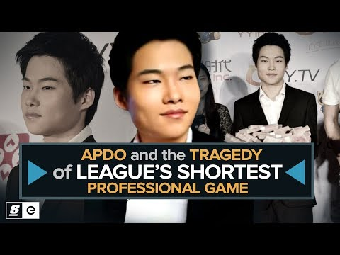 Apdo and the Tragedy of League's Shortest Professional Game