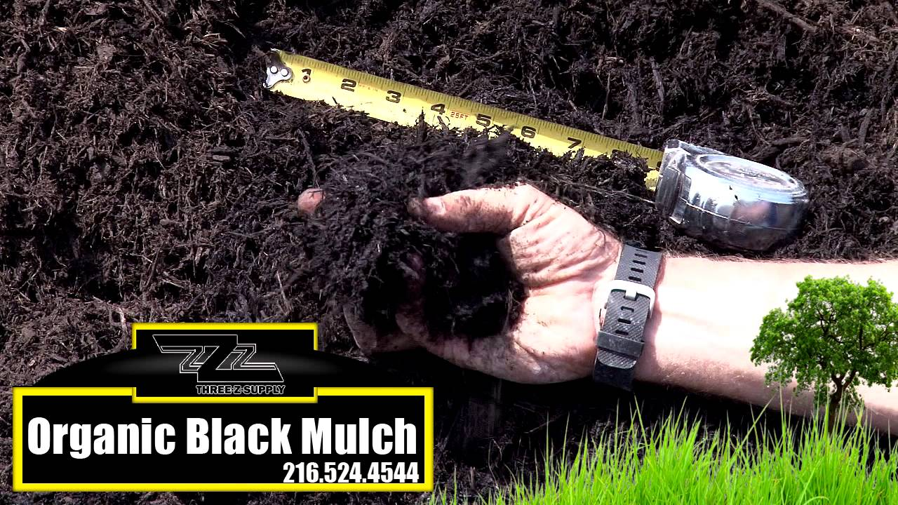 Black Bark Mulch Three Z Supply Organic Black Bark Mulch
