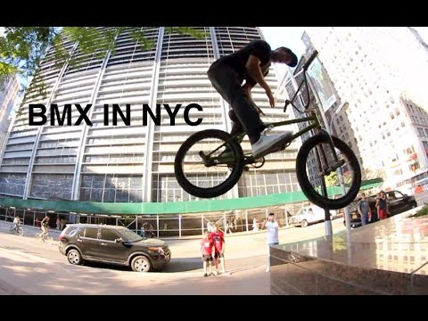 A Day Riding BMX in Downtown NYC