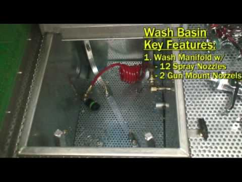 ENVIRO 800 Spray Gun Cleaner Control Features - How to Use & What They Do