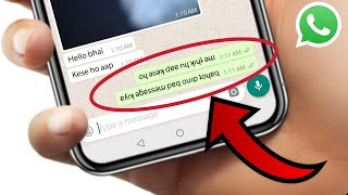 WhatsApp Messenger Flip (Mirror) Text chat App