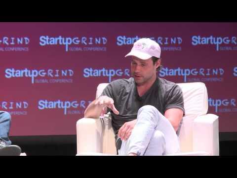 Bastian Lehmann (Postmates) and Nabeel Hyatt (Spark Capital) at Startup Grind 2016