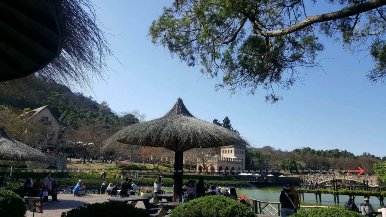 Menikmati Wisata Alam Di Xinshe Castle Taichung Taiwan Youtube