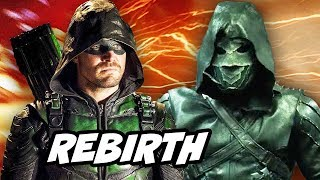 Arrow Prometheus Scene Explained and Green Arrow Rebirth Season 5