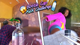 BOTTLE CAP CHALLENGE WITH THE SO COOL FAMILY!