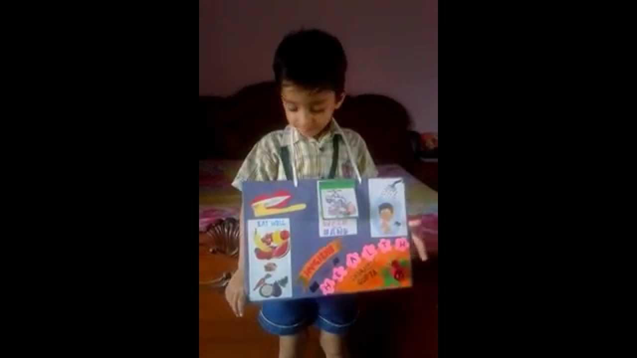 Devansh Final Preparation For Show And Tell Competition On Topic
