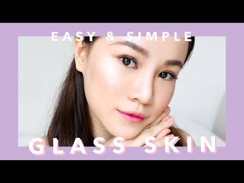 HOW TO GET GLASS SKIN FOR BEGINNERS (EASY & SIMPLE Korean Skincare Routine)