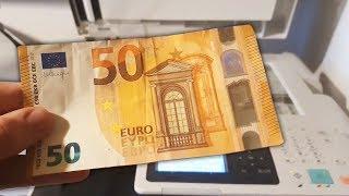 Fotocopiando billetes