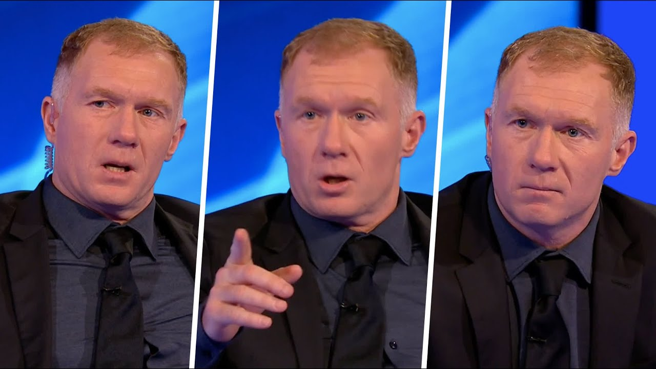 """Download """"Look at that first half!"""" 😡 Paul Scholes fumes over Man Utd's unconvincing win against Atalanta"""