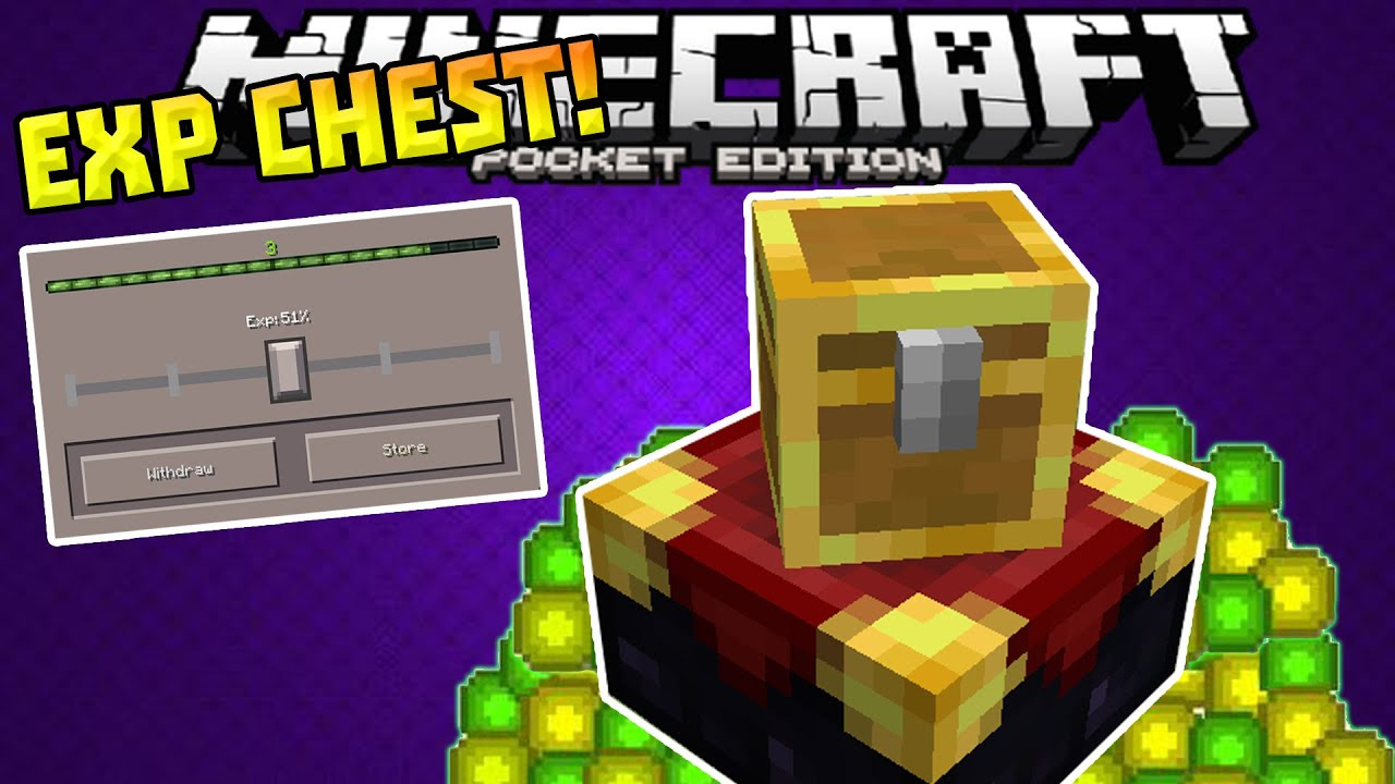 how to make chest in minecraft pocket edition