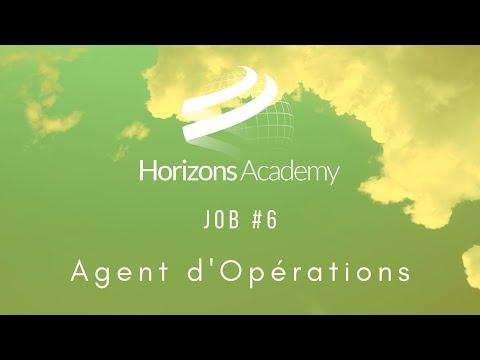 JOB 6 - Agent d'Opérations