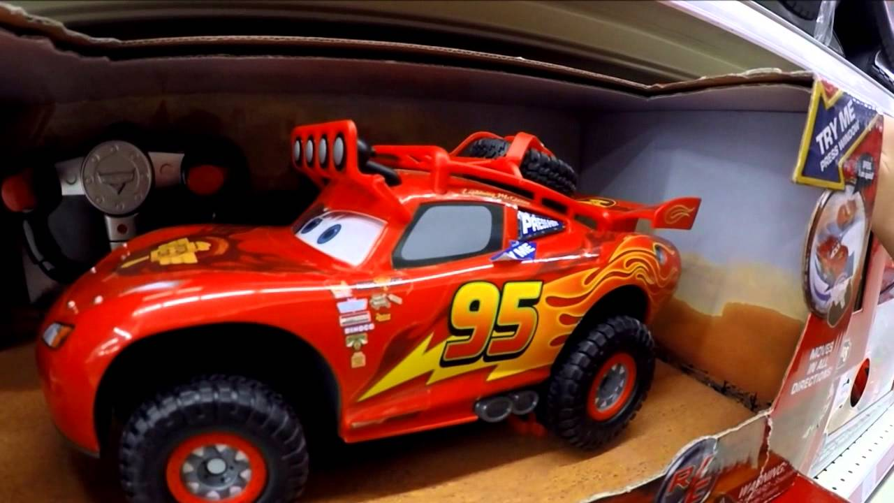 Off Road Lightning Mcqueen Disney Pixar Cars Toys Off Road Racin R C Lightning Mcqueen Toys R Us Toy Hunting Ep 3
