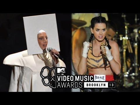 Lady Gaga 2013 VMA Applause Performance VS...