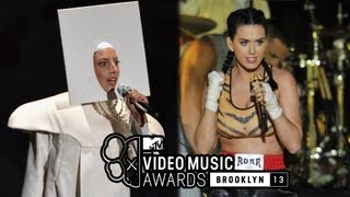 Lady gaga vma performance 2013 vs katy perry!more photos - http://bit.ly/17fqpxlhttp://bit.ly/subclevvernews subscribe now!http://twitter.com/clevverne...