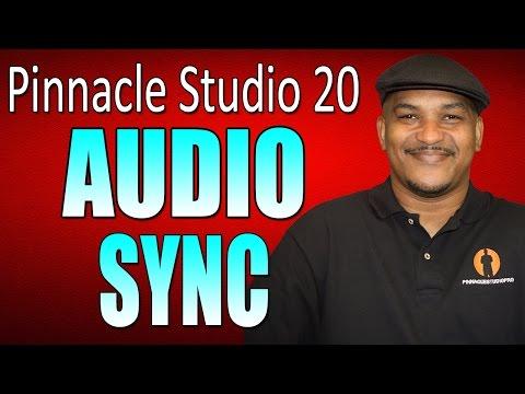 Pinnacle Studio 20 Ultimate   Audio Sync Tutorial