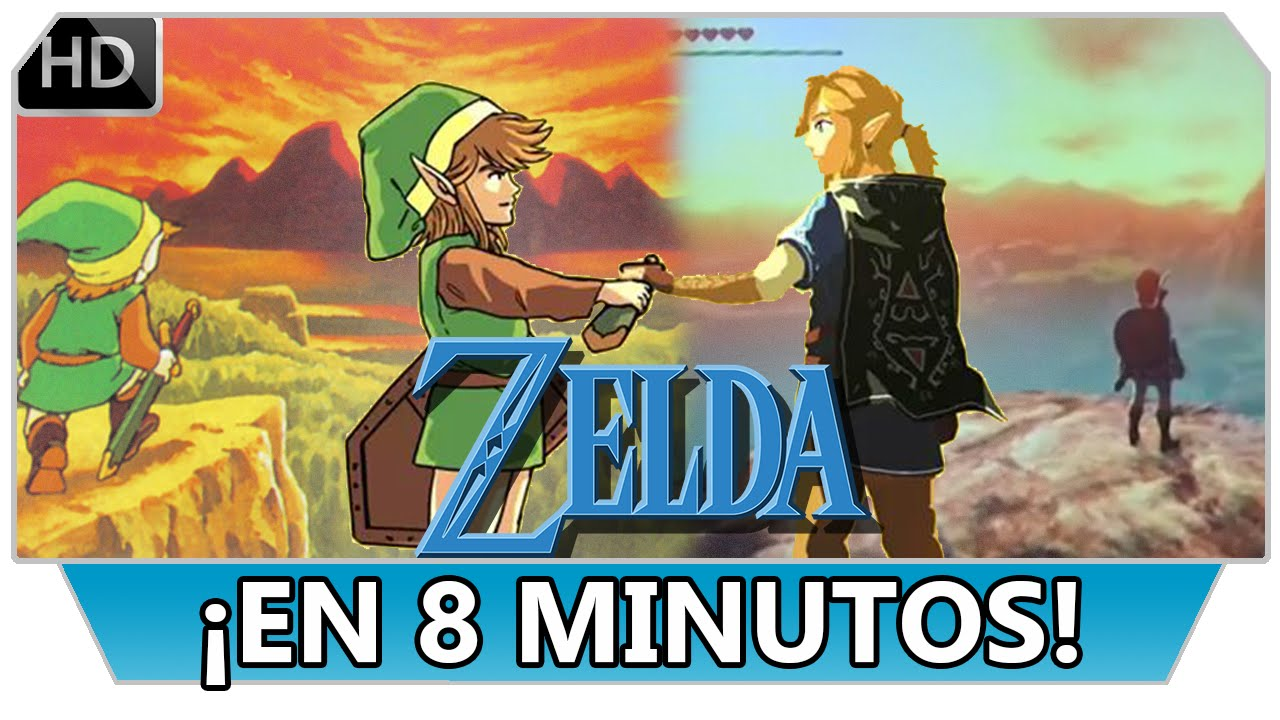 Cronologia De Zelda En 8 Minutos 30 Aniversario The Legend Of