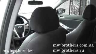 Видео обзор салона Hyundai Accent Solaris 2014 смотреть