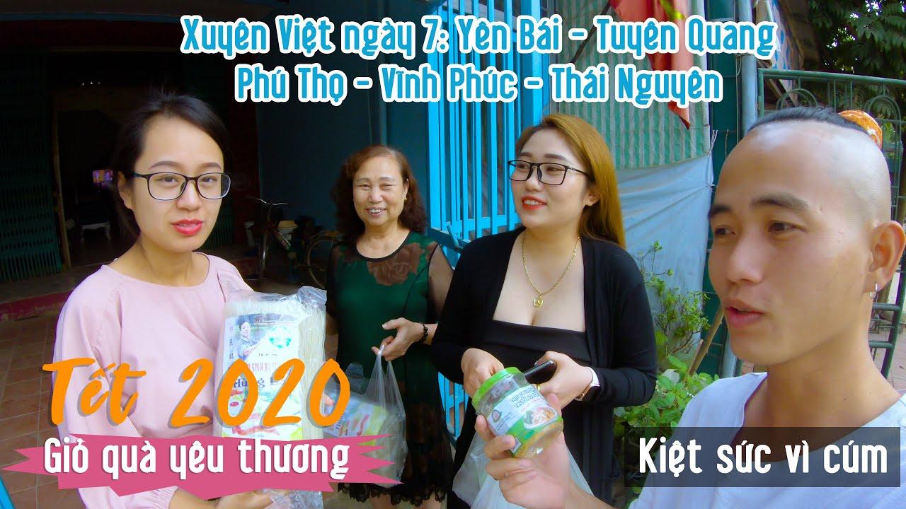 Hành trình xuyên Việt xin Đặc Sản làm từ thiện - Giỏ quà yêu thương - Ngày 7