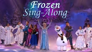 Frozen Sing-Along - Disneyland Paris 2015 & 2016