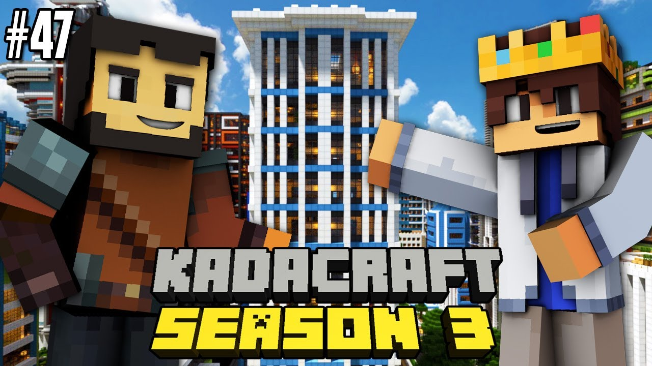 KadaCraft 3 #47 : SlyTheMiner BUILDINGS PROJECT ?! (Filipino Minecraft SMP)