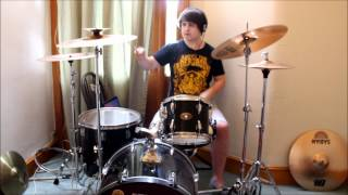 Colder Than My Heart, If You Can Imagine - A Day To Remember - Drum Cover - Josh Phillips
