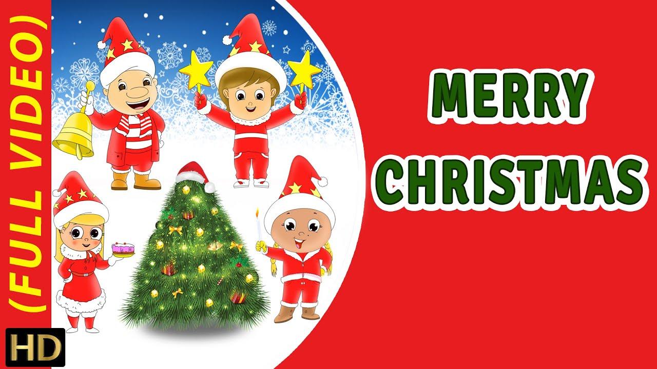Merry Christmas (HD) | Nursery Rhyme | Popular Kids Song | Full ...
