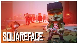 Squareface - Paper Zombie Survival!? (PC Gameplay)