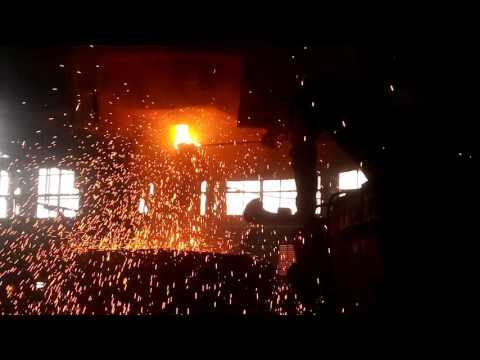 Жесть металлургия разливка шок