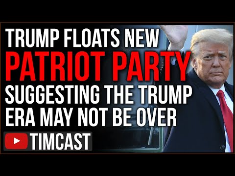 """Trump Floats New """"Patriot Party,"""" Angering Republicans And Suggesting The Trump Era Is NOT Over"""