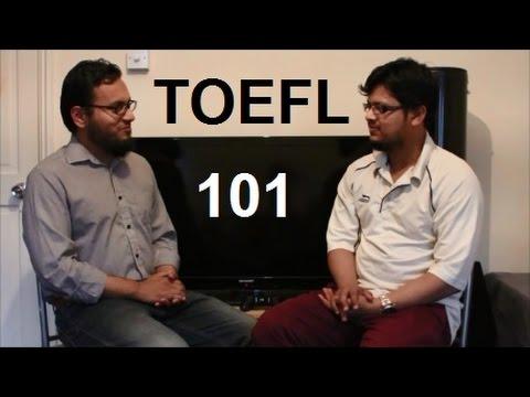 TOEFL 101 / 120 Interview Speaking Listening Reading Writing Test Tips