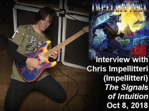Chris Impellitteri (Impellitteri, ex-Animetal USA) 2018 Interview on the Signals of Intuition Mp3