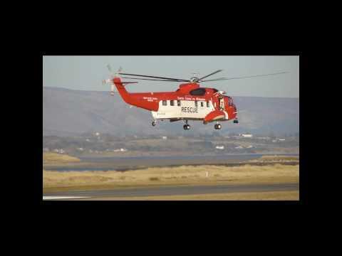 Sikorsky Irish Coast Guard -Sligo Airport