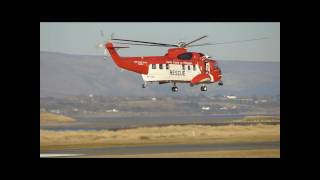 Sikorsky Irish Coast Guard -Sligo Airport