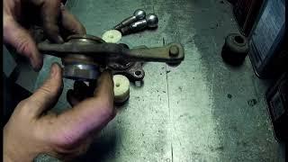 ремонт шаровых автомобиля toyota lite ace