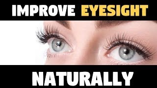 How To STOP AGING and IMPROVE EYESIGHT NATURALLY and You'll Look 15 Years Younger Only DOING THIS!!