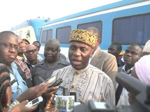 Watch Minister of Transportation Rotimi On Railway Test Abuja-Kaduna Route