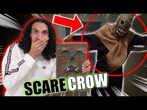 *SPEAK THE SCARECROW'S CALL* READING FROM THE BOOK OF SHADOWS AT 3 AM!! (IT FOLLOWS ME!!)