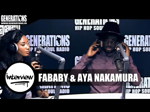 Fababy & Aya Nakamura - Interview (Live des studios de Generations)