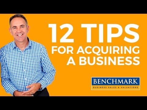 12 Tips For Acquiring a Business