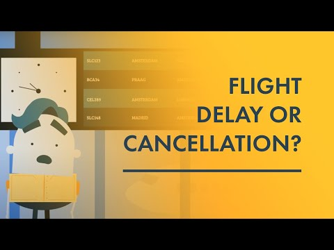 Flight delay or cancellation? Your air passenger rights!