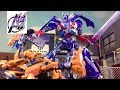Transformers The Last Knight Optimus Prime vs Bumblebee Stop Motion