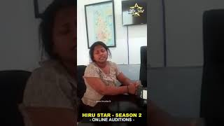 sayomi samarasekara    Hiru Star - Season 02   Online Auditions