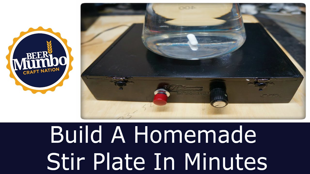 Diy Build A Homemade Stir Plate In Minutes Youtube