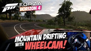 Forza Horizon 4 Wheelcam Drifting | Mountain Downhill | PC Gameplay