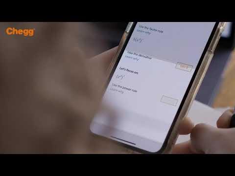 Chegg Math Solver: Mobile App