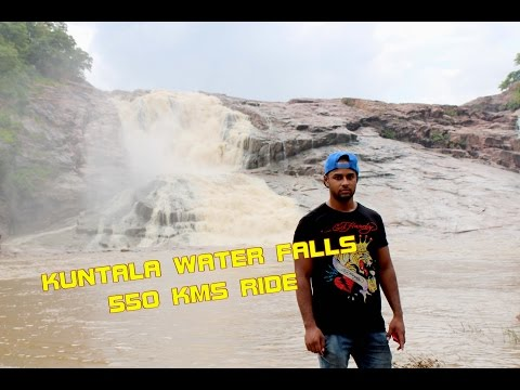 Kuntala Waterfalls - HyBikers Club - 550 Kms in a day - Tried vlogging as well