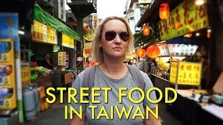 Tasty Street Food in Taiwan