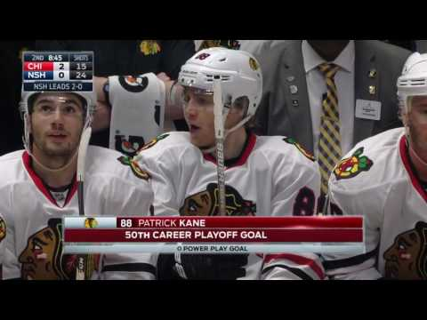 Chicago Blackhawks vs Nashville Predators - April 17, 2017 | Game Highlights | NHL 2016/17