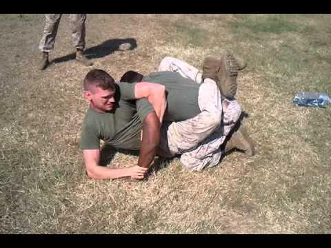 Marine Grappling Match #4